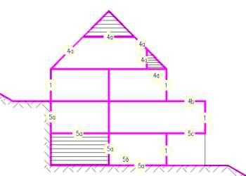 bestandspl ne beheizte geb udeh lle geb udefl che mit anleitung berechnen. Black Bedroom Furniture Sets. Home Design Ideas